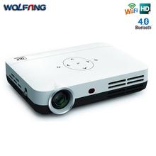 DL-303A Intelligent Digital Portable Mini Full HD DLP projector home theater support WIFI / HDMI / TF / USB / AV Projector(China (Mainland))