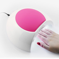 SUNmini 6W LED UV Nail Dryer Curing Lamp Light Portable for Gel Based Polishes Manicure 2 Timer Setting 45s/60s