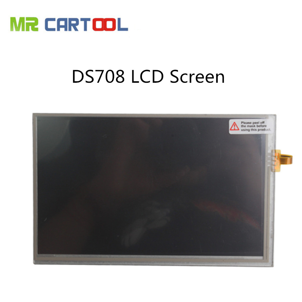 100% Original Autel Maxidas DS708 LCD Screen Best Matched Maxidas DS708 LCD Touch Screen Free Shipping(Hong Kong)