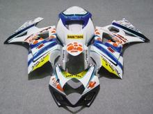 Buy Motorcycle Fairing kit for SUZUKI GSXR1000 K7 07 08 GSXR 1000 2007 2008 gsxr1000 ABS White blue Fairings set+7gifts SB22 for $346.86 in AliExpress store