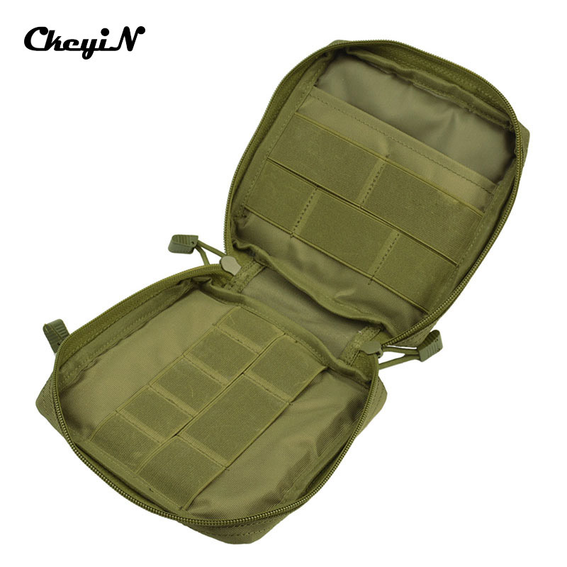 Survival Kit Nylon MOLLE First Aid Kit Tactical Multi Medical Kit or Utility Tool Gear Bag Camping Equipment WholesaleYD115_3437(China (Mainland))