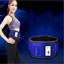 Hot Selling Fashion Modern X5 Times Vibration Slimming Massage Rejection Fat Weight Lose Belt Health Care Home Bueaty Blue