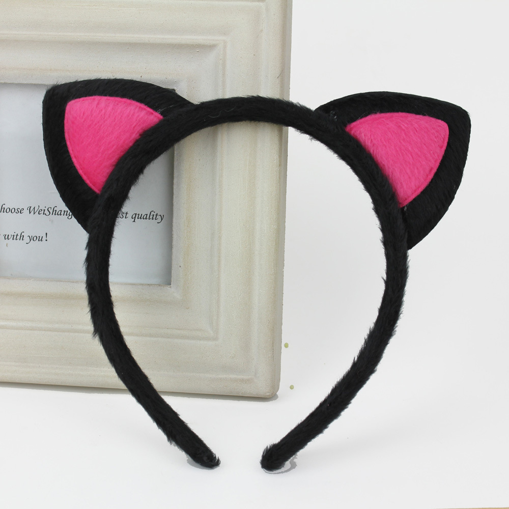 4510 new Fox cat ears headband card for children and adults with plush head hoop cat hair accessories exports to South Korea(China (Mainland))