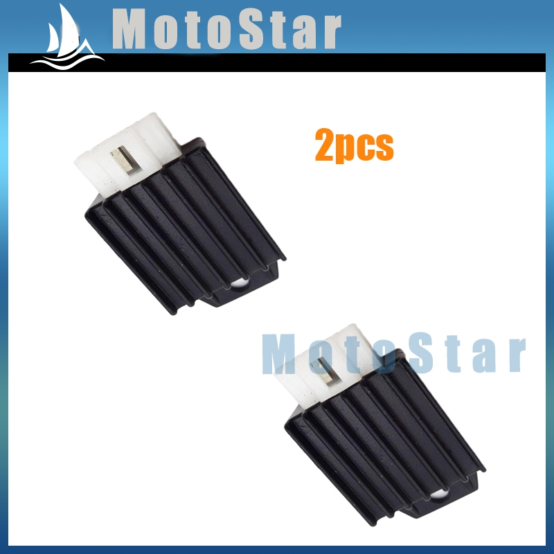 2pcs/lot 12V Voltage Regulator Rectifier 50cc 70cc 90cc 110cc 125cc 150cc Engine Pit Dirt Bike Motorcycle ATV Buggy Scooter(China (Mainland))