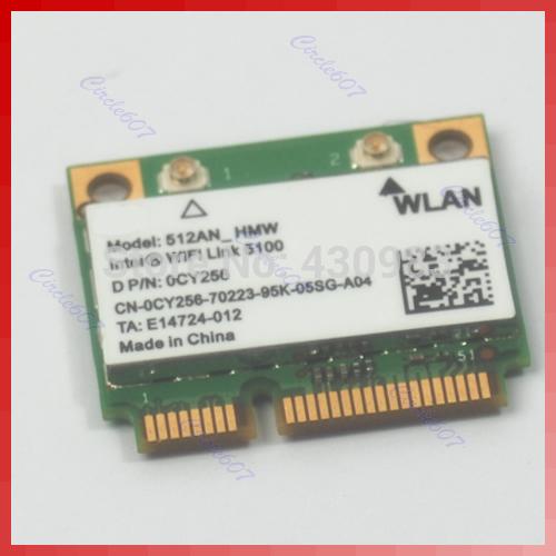 HOT Half Size Mini Pci-e Wlan Card For Intel WiFi Link 5100(China (Mainland))
