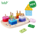 Baby toys for children Wooden Geometric Matching Block for Kids Gift juguetes brinquedos
