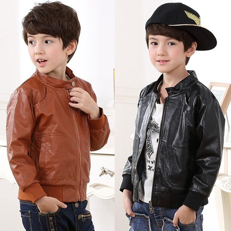 Toddler Boy Faux Leather Jacket - Jacket