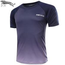 EA brand Sport t shirt men Clothing 2016 Summer Hot Sale Short sleeve Quick Dry Slim Fit Casual Running T-Shirts Tops&Tees M-XXL