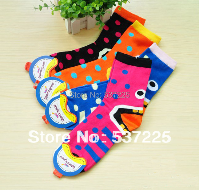 Cute cartoon socks cotton south Korean Creative Whimsy women s fashion socks