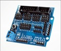 Sensor Shield V5 0 sensor expansion board for Arduino electronic building blocks of robot parts