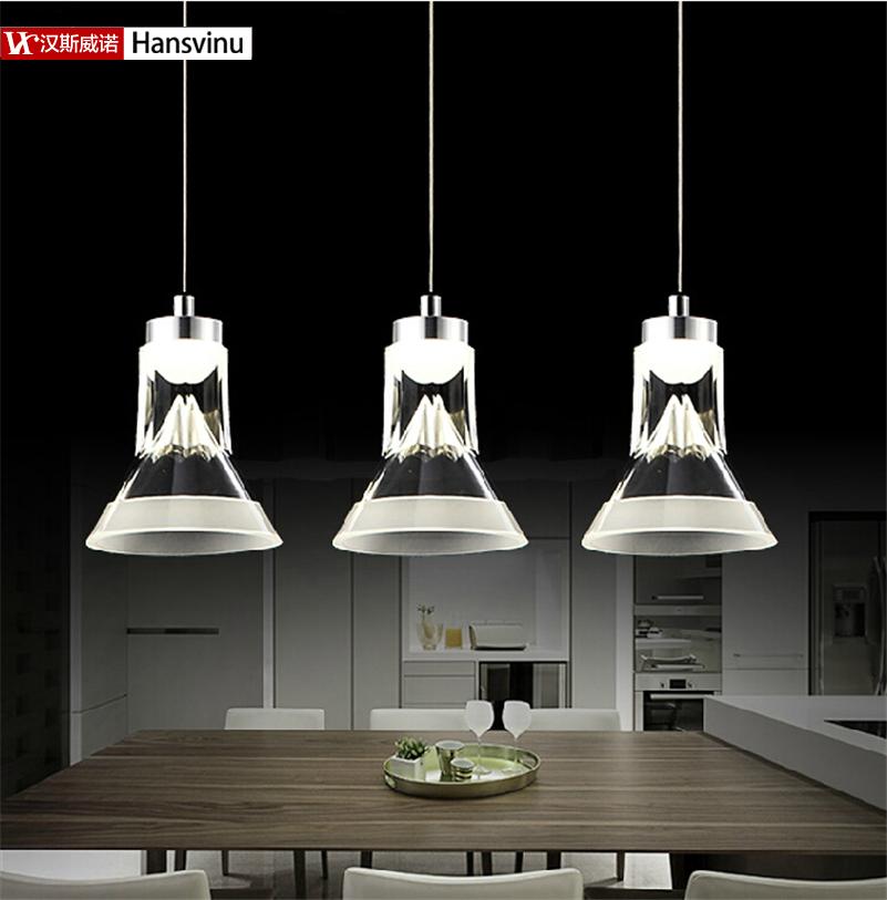 2016 new 3*3W Energy-Saving LED Acrylic Lights,modern dinning room lighting led  Lamp Home Decoration Lighting<br><br>Aliexpress