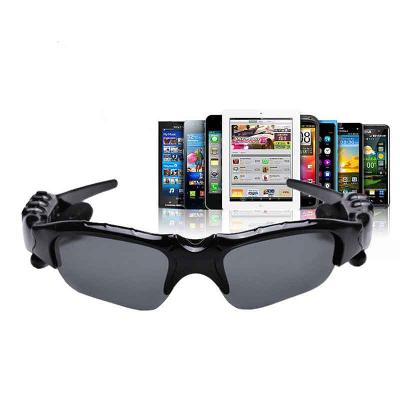 MLLSE Anime Hatsune Miku Vocaloid Smart Sun Glasses Bluetooth 4.1 Stereo Music Wearable Devices Sport Headset for Phone MP3 MP4