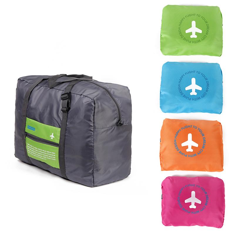 2015 hot sale large capacity luggage bag tote bag waterproof nylon foldable traveling bag storage bag(China (Mainland))