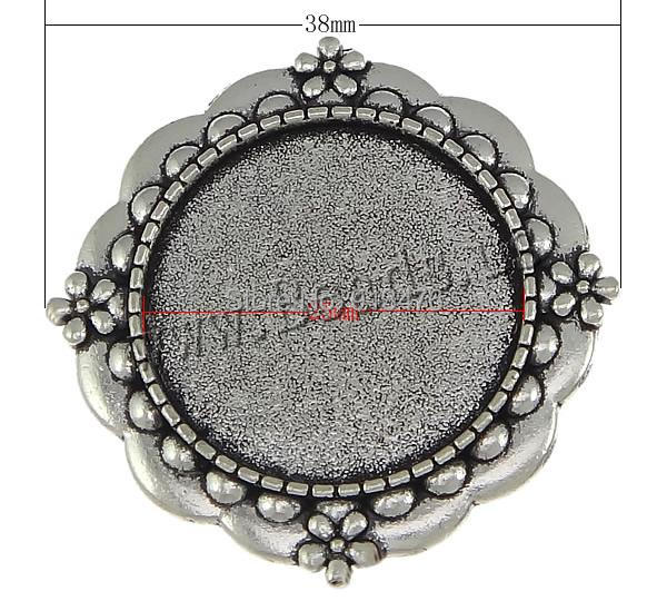 Free shipping!!!Zinc Alloy Brooch Finding,Wholesale Jewelry, Flower, antique silver color plated, nickel, lead &amp; cadmium free<br><br>Aliexpress
