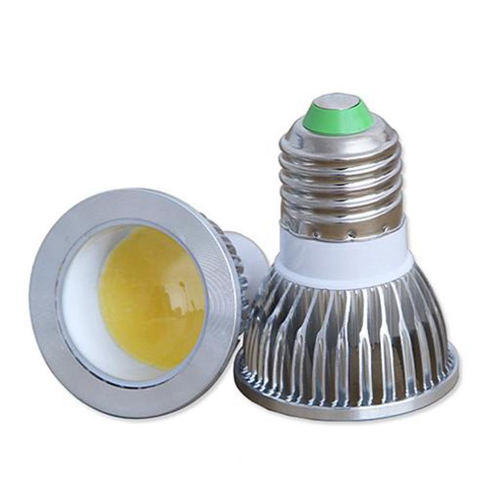 Dimmable COB 5W 7W 9W Gu10 LED Spotlight Lamp E27 Gu5.3 85-265V MR16 12V LED Spotlight bulb LED Downlight()