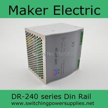 Ce утвержден широкий диапазон входного красиво 240 Вт 24vdc 10a DR-240-24 din железнодорожных 24 v электропитание питания с высокая watts с