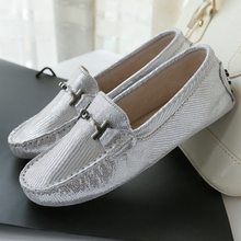 2016 Women Flat Shoes Breathable Moccasins Women's Genuine Leather Fashion Loafers slip on driving shoes Woman casual Shoes