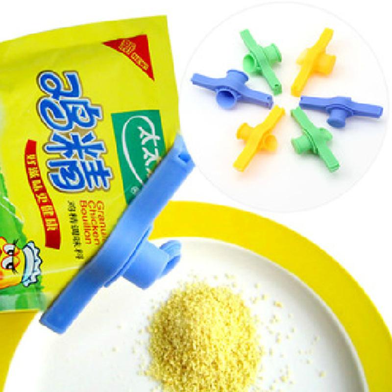 2PCS Bag clip Moisture vacuum seal food bag cap seal plastic bags sealer food fresh-keeping sealing clip kitchen accessories(China (Mainland))