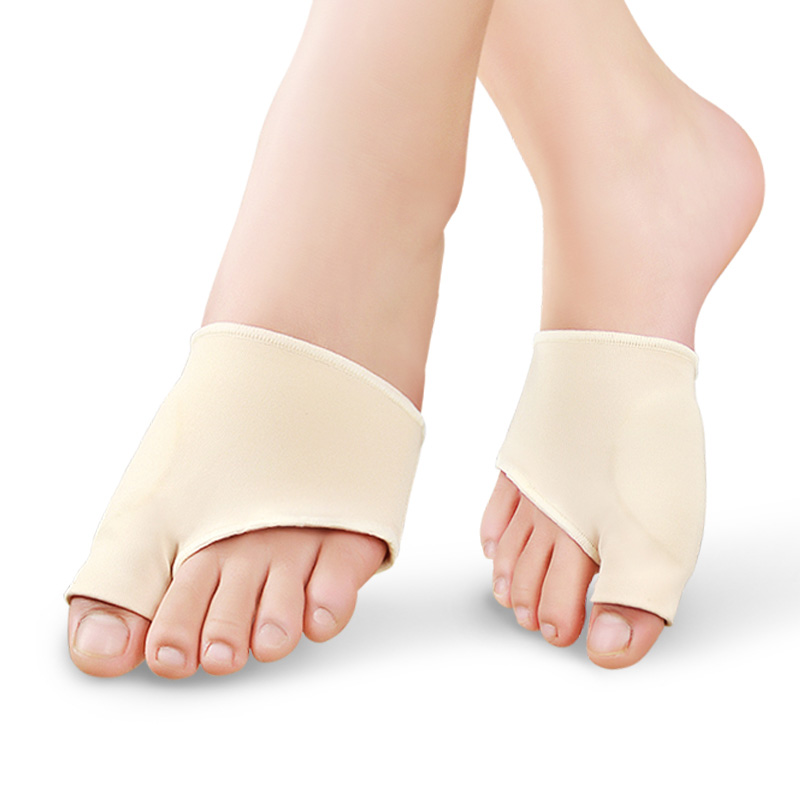 2Pcs Bunion Gel Sleeve Hallux Valgus Foot Pain Relieve Feet Care Silicon Insoles Socks Orthotics Overlapping Big Toes Correction(China (Mainland))