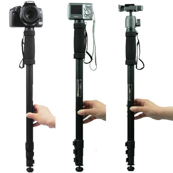 WT1003 62 Camera Monopod Lightweight Portable Monopod Stand For Canon Nikon DSLR Wholesale