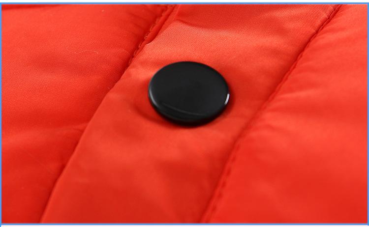 Скидки на Вниз Пальто для Девочек Зимние Куртки Мальчики Двойная Молния Письмо Девушки Зимнее Пальто Doudoune Файл Детская Одежда Верхняя Одежда Куртка dj029