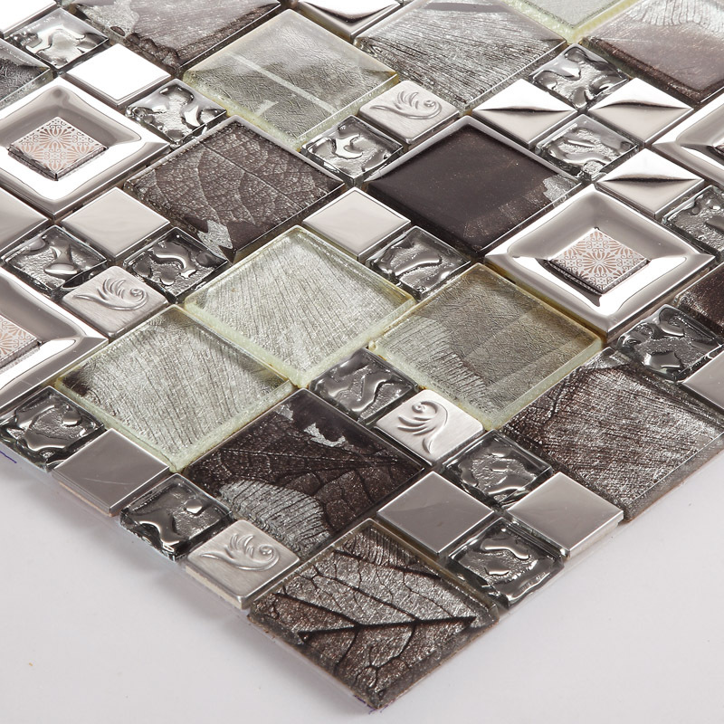 Mosaico di vetro camino acquista a poco prezzo mosaico di vetro ...