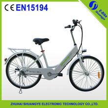 """HOT slae funride36v  24"""" e-bicycle aluminum alloy ebike with brushless motor"""