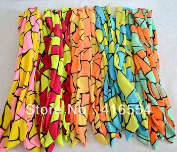 hair band Hundred change the streamers Fashion  20 pcs/LOT Rabbit ear hair band scarf pattern