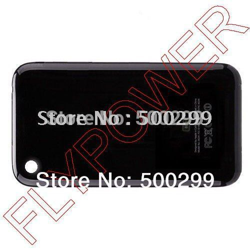 For iphone 3G battery cover, back cover, battery door by free shipping; HQ; 5pcs/lot(China (Mainland))