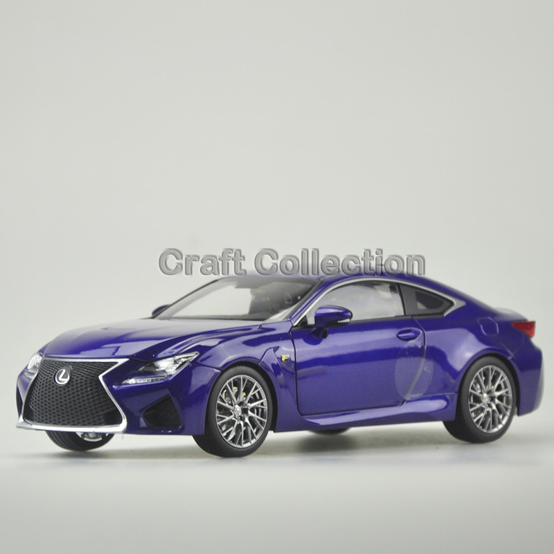 * Blue 1/18 Scale LEXUS RCF Coupe Luxury Sport Car Collection Diecast Model Car Aluminum Several Colors(China (Mainland))