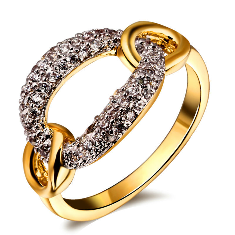 New jewelry Wedding Engagement present for women Lovers Welcome White cubic zircon ring()