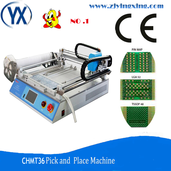 CHMT36 29 Feeders Automatic Pick and Place Machine Chip Mounter Pcb Depaneling Machine(China (Mainland))