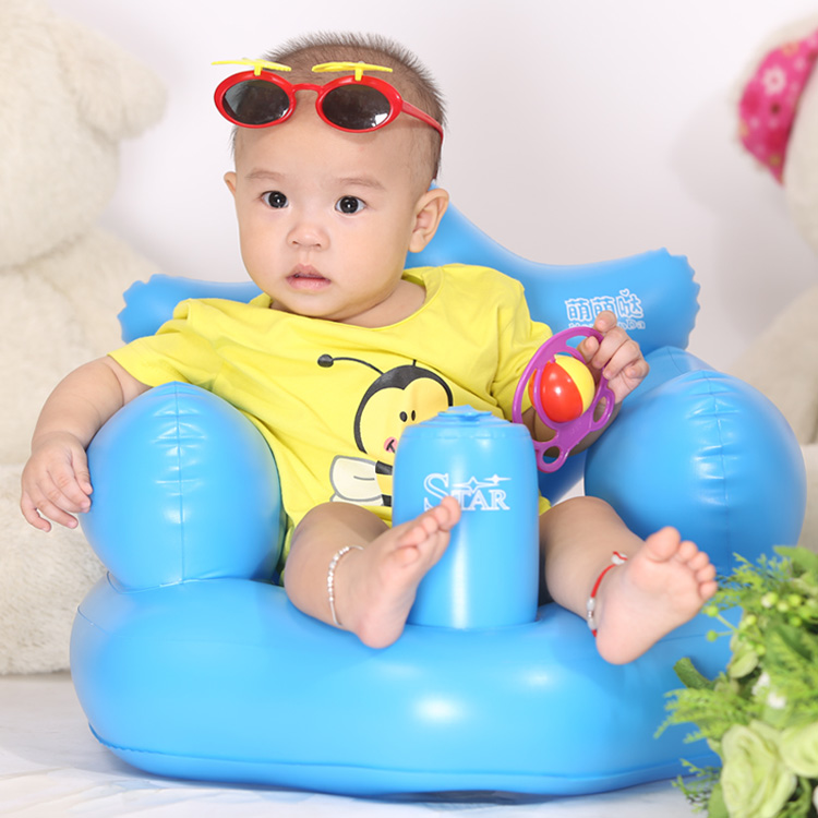Baby Inflatable Sofa Portable Baby Dining Chair Inflatable