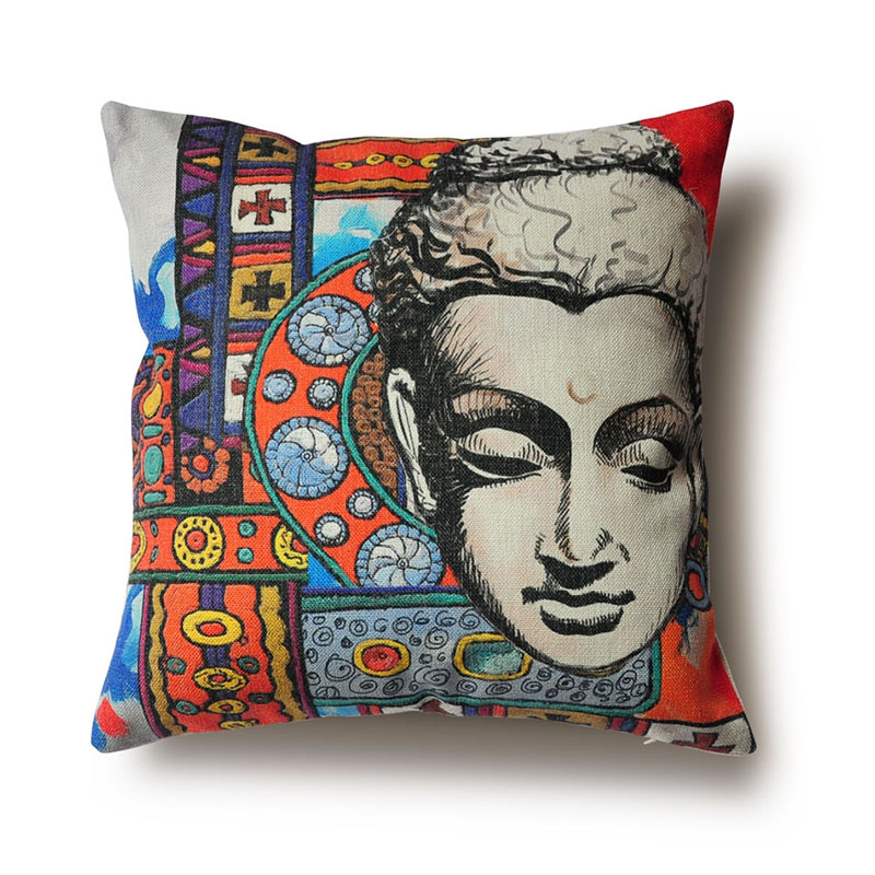 Company custom photo fancy cushion cover plant printed throw pillow case cotton linen cojines advertising gifts wholesale(China (Mainland))