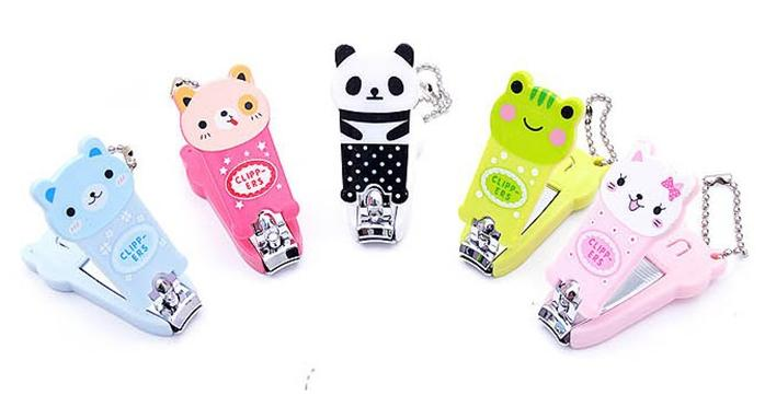 new cute nail tools mini cartoon nail clipper cheap stainless steel finger scissors nail knife free shiping drop shipping(China (Mainland))