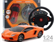 Buy RC Mini Car Remote Control 1/24 Drift Speed Radio Steering Wheel RC Racing Car Radio-Controlled Cars RC Car + LED Light for $14.38 in AliExpress store