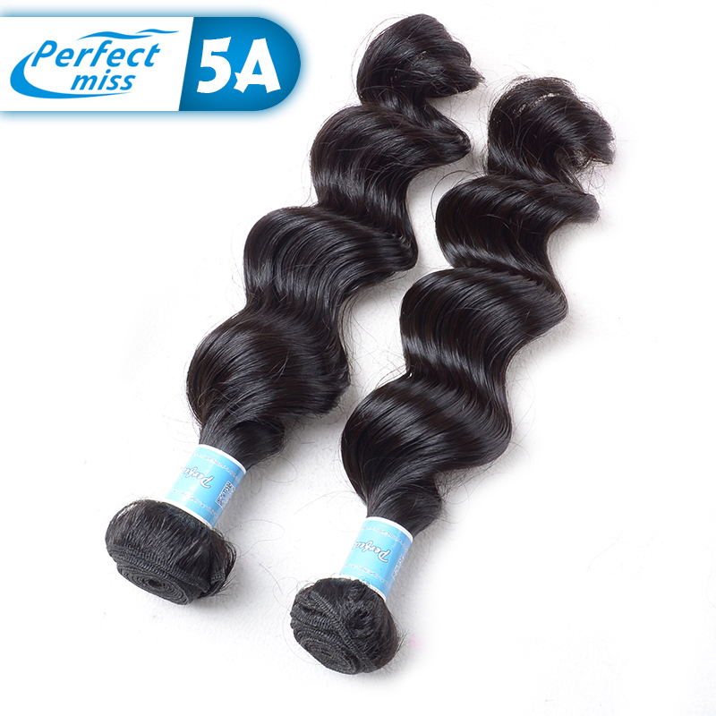 Low price standard weight natural hair weaves real hair extensions for black women 2pcs natural hair extensions remy human hair(China (Mainland))