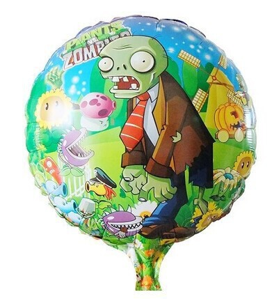 The new hot air balloons floating Zombies aluminum balloons wholesale children's birthday toy balloons(China (Mainland))