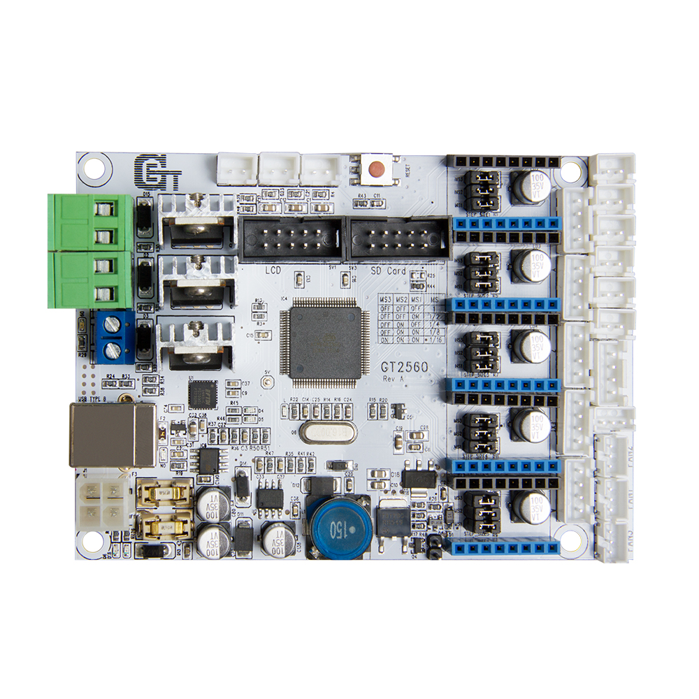 Geeetech GT2560 3D printer controller board Power Mega2560+Ultimaker Ramps 1.4+Mega2560 - GETECH CO.,LTD store