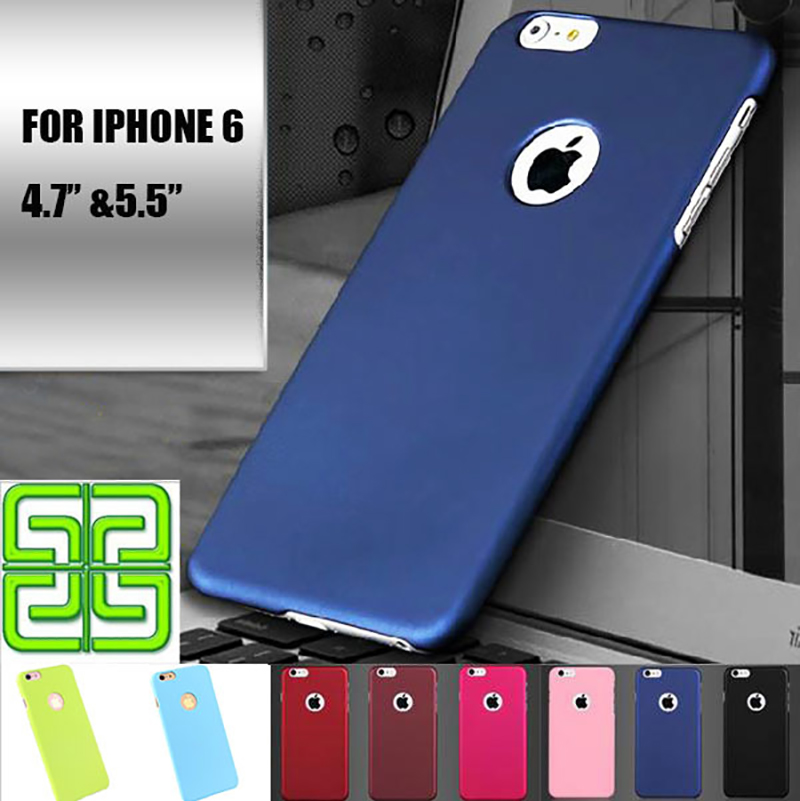 "2016 Cover for iPhone 6 Case 4.7 "" for iPhone 6 Plus Case 5.5 "" Frosted Hard Plastic Covers for iPhone 6 6S Plus Phone Cases(China (Mainland))"