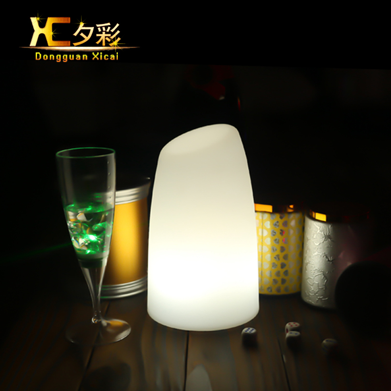 LED Table Lighting Color Changing Bar Ambiance Lamp Decorative Night Light For Wedding Party Music Festival Grand Opening(China (Mainland))