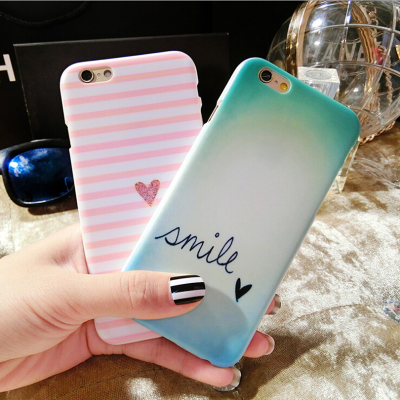 New Arrival Fashion Stripe Cartoon Letters For Apple