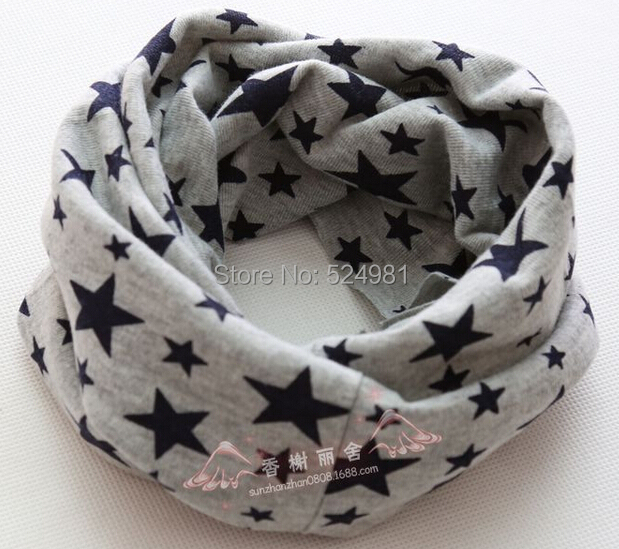 Free shipping 2015 New arrive Children outdoor scarves multifunctional warm magic bandanas ring gary star(China (Mainland))