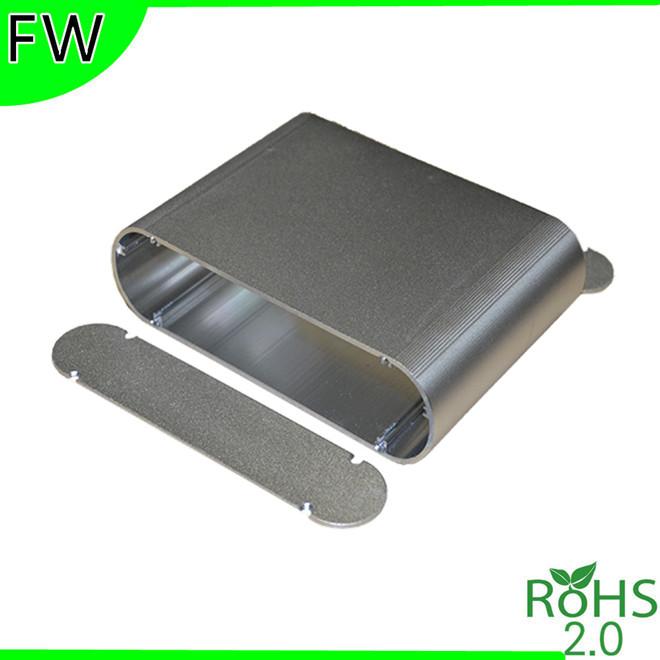Aluminum housing LED car navigation controller enclosure amplifier shell casing boxes enclosure 165*40*120mm(China (Mainland))