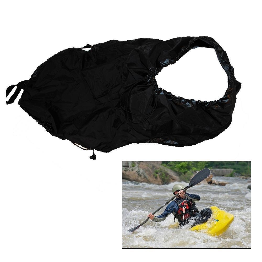 New Arrivals 2015 Universal Nylon Kayak Spray Skirt Deck Sprayskirt Black Free Shipping Cover - Black #1005(China (Mainland))