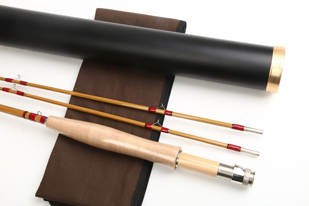 Buy free shipping 100 hand made chinese for Bamboo fishing rods