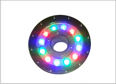 IP68 waterproof AC12V 18W 3-in-1 rgb led pool lamp led fountain lighting Applicable in chlorine(fresh) or Salt(sea) water(China (Mainland))
