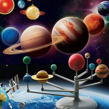 Solar System Planetarium Model Kit Astronomy Science Project DIY Kids Gift Hot Selling(China (Mainland))