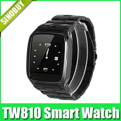 TW810 Smart Bluetooth Watch Phone Quad Band Camera Bluetooth Java GPRS 1.6-inch Touch Screen Smart Wristwatch(China (Mainland))