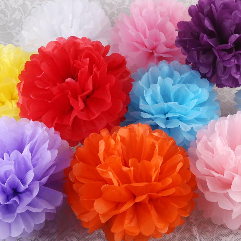 Diy multi colour 4 6 8 mixed sizes 15pcs paper flowers ball diy multi colour 4 mightylinksfo